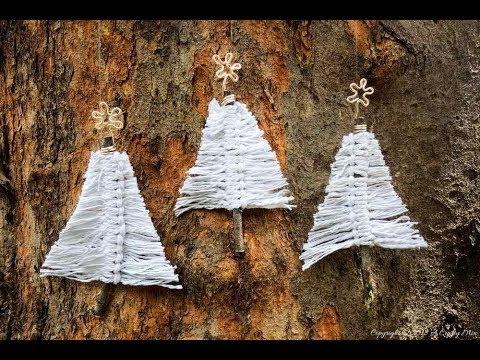 Macrame Christmas Trees