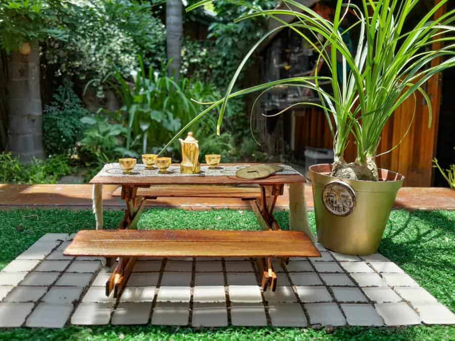 Fairy Picnic Table - How To Make Your Own   A Crafty Mix