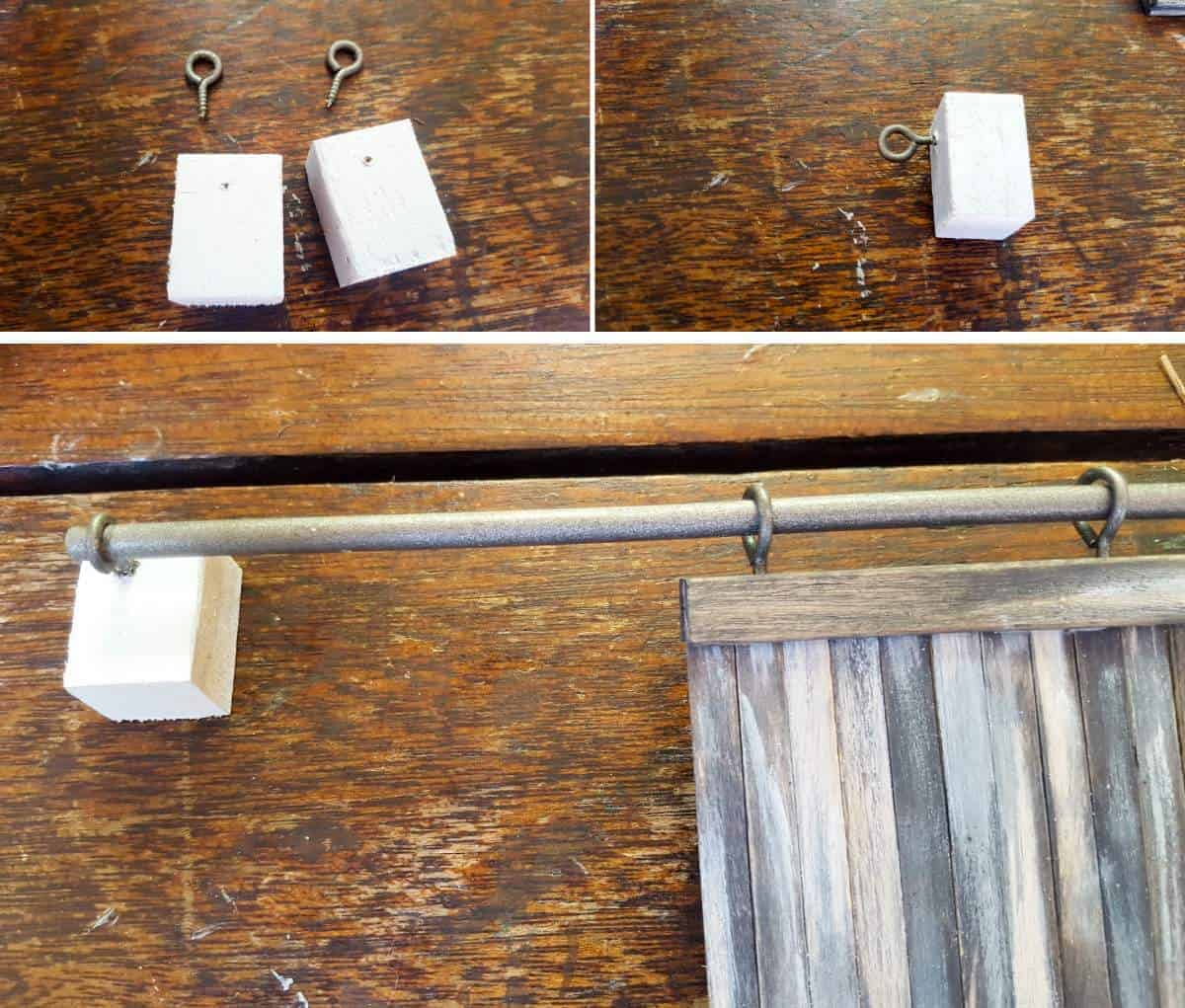 How to build miniature barn doors to hide those ugly wall plugs. Full tutorial on the blog