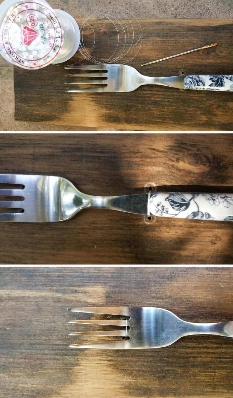 Do you have a whole bunch of ,mismatched forks? Try this quick and easy decor idea that can make a huge impact and add a unique touch to your gallery wall. #DIYHomeDecor #GalleryWall #Repurpose