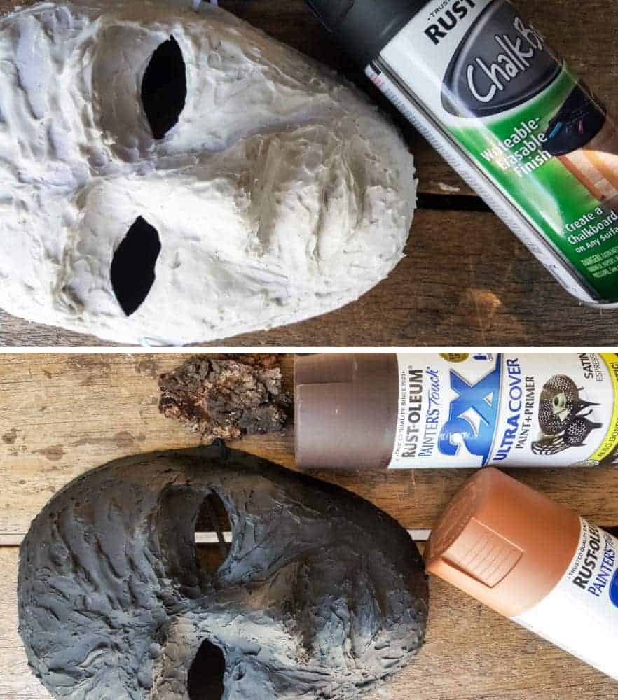 How to make a Spirit in the Forest wreath. A Grandin Road knock-off that looks amazing and you'll have so much fun doing it. #GrandinRoad #spiritoftheforest #greenmanwreath #SpringHomeDecor #DIYHomeDecor #HalloweenWreath