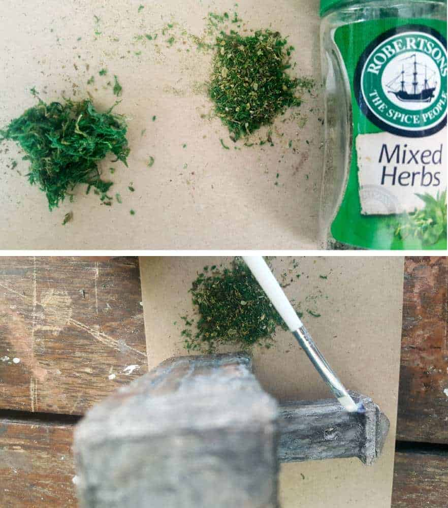 Spicing up the fairy water feature #DIYFairyWaterFeature #WaterFeature #FairyGardens