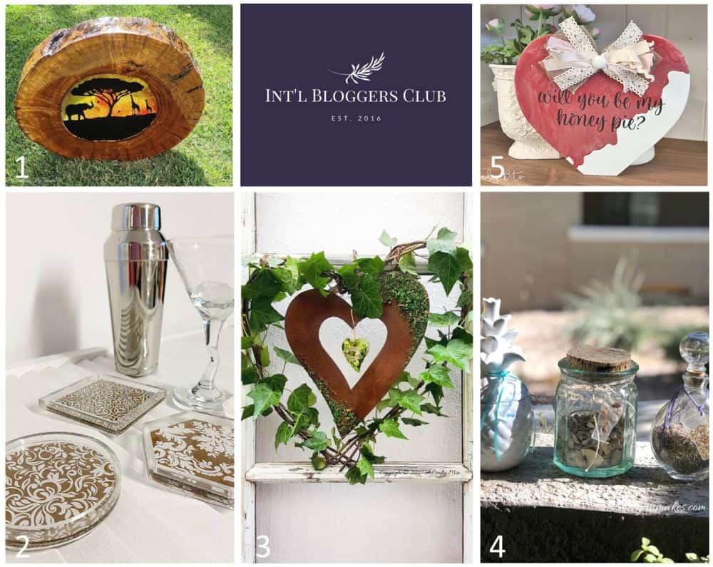 IBC - Int'l Bloggers Club January 2021 -  I love resin challenge