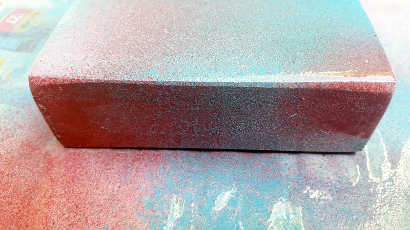 Play around with a few colors to paint the platform