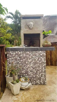 How To Tile a Patio Wall in a Day With Pebble Tiles