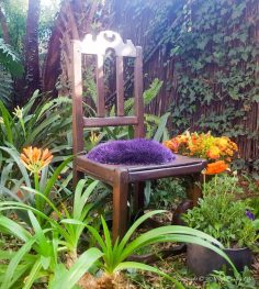 An Old Chair Gets Some TLC and Gypsy Love