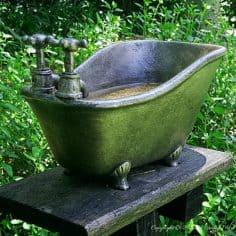 Make a Bird Bath Feature