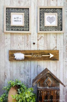 Love Arrow Sign – Home Decor Gift Idea