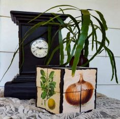 Make a 3D Picture Puzzle from Wood Off Cuts – DIY