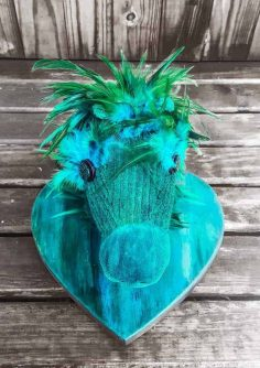 A Sad Hobby Horse Gets a Beautiful Unicorn SPiT Makeover
