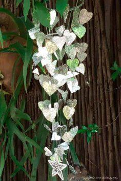 Chain of Hearts Garden Mobile – Easy DIY