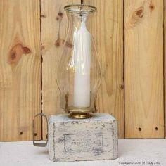 Recycled Lanterns from Block Pallets – Quick and Easy