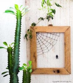 Making Matilda's Web – Easy Wire Art Tutorial