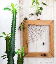 Making Matilda's Web – Easy Wire Art Tutorial