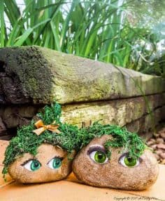 The Story of a Mossy Couple And How to Paint Eyes