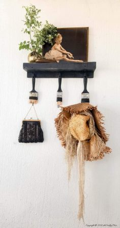 Get Hooked on This Repurposed Paint Brush Idea