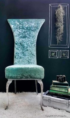 Extreme Repurpose – The Making of a Mermaid Chair