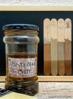 Rusty Nail Muti – The Best DIY Aging Wood Stain