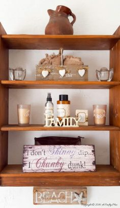 Crafty Storage Solutions for a Small Space