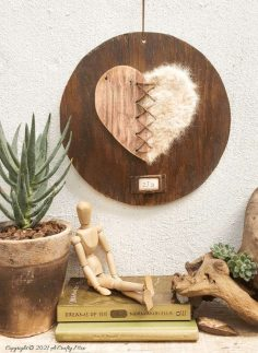 Spun Pet Hair Heart – A Precious Keepsake