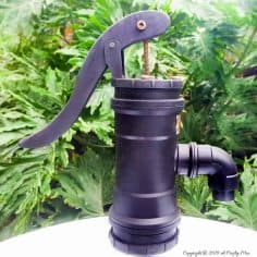 How to Make Your Own Faux Hand Water Pump