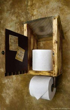 From a Tin Can to an Outhouse – The Easy Way