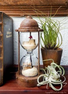 A DIY Inspired by the Sands of Time Hourglass