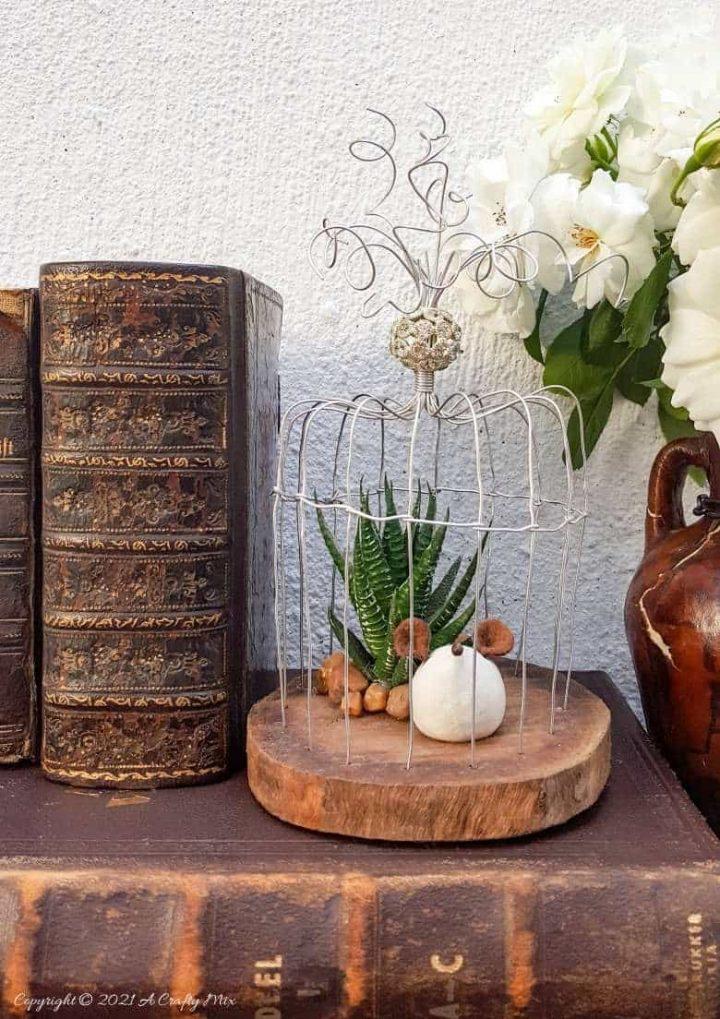 Handcrafted Art Deco Wire Birdcage – Easy DIY