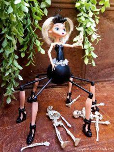 Barbie Gets a Spider-Girl Makeover, that Rocks!!!